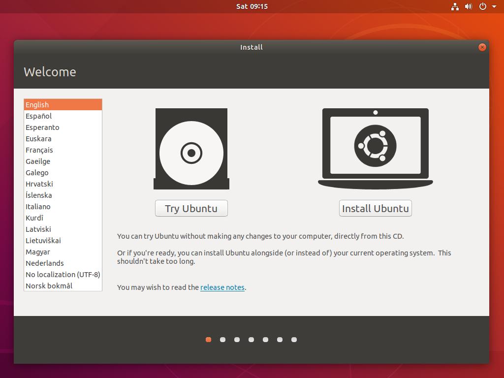 How to install Ubuntu 18 04 LTS Bionic Beaver in 10 easy