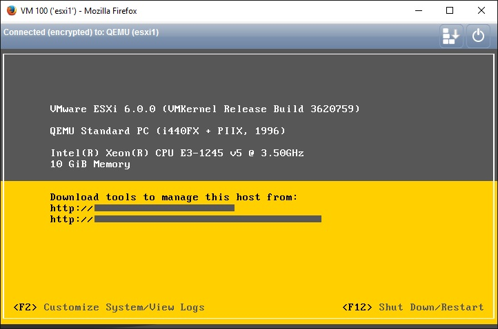 How to install ESXi nested inside ProxMox VE – Marksei