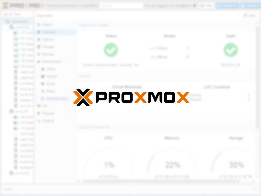 Proxmox: manage your virtual machines like a pro! – Marksei