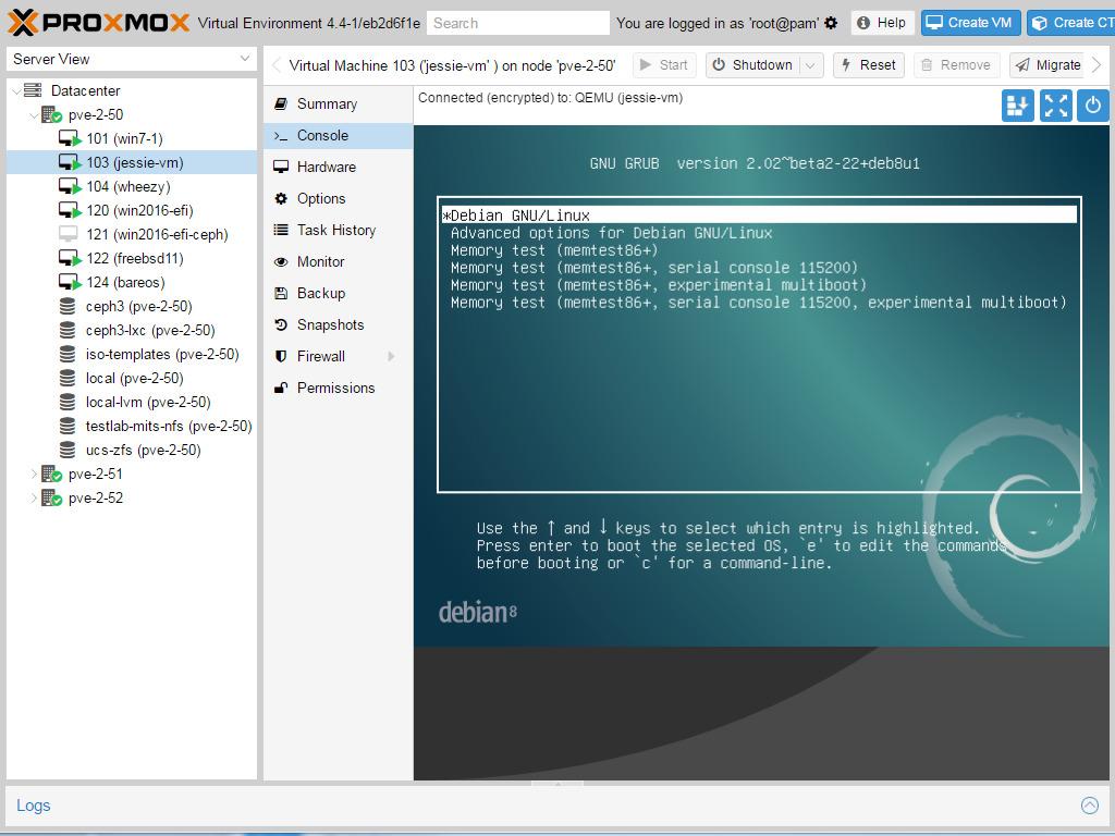 Proxmox: manage your virtual machines like a pro! – Marksei