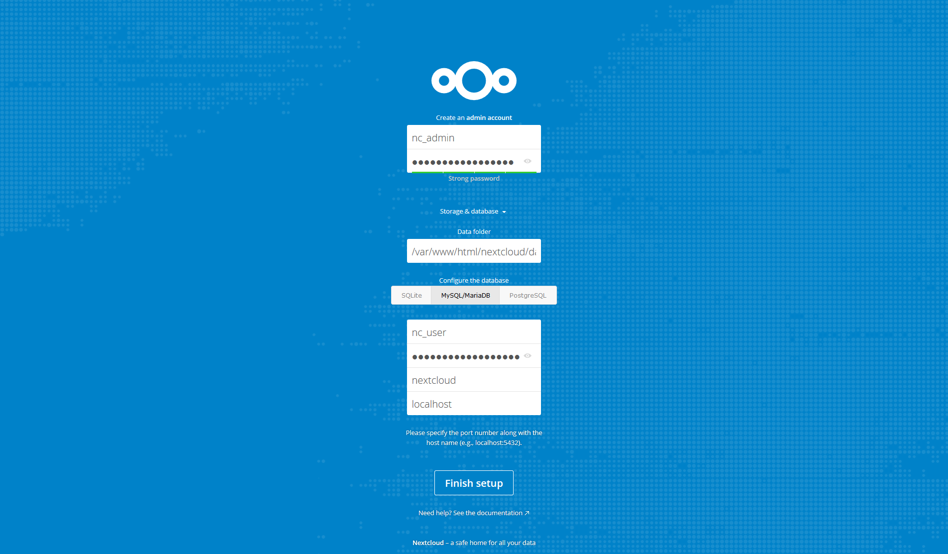 Mozunote.com Install Nextcloud
