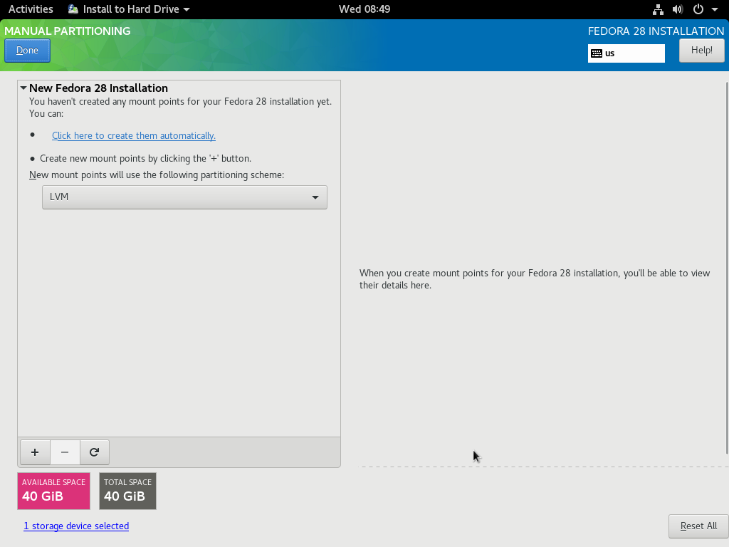 How to install Fedora 28 in 10 easy steps – Marksei