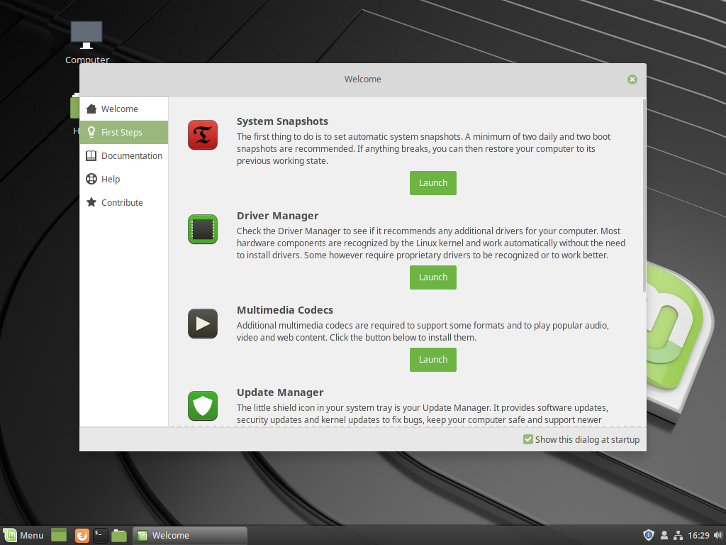 Linux Mint 19 new features, now with Timeshift! – Marksei