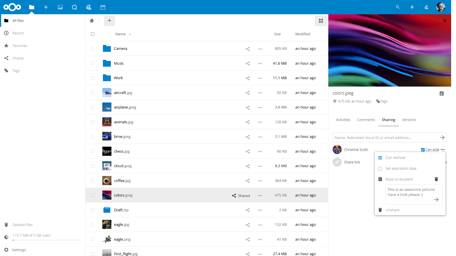 NextCloud 14 released: cloud federation to the next level