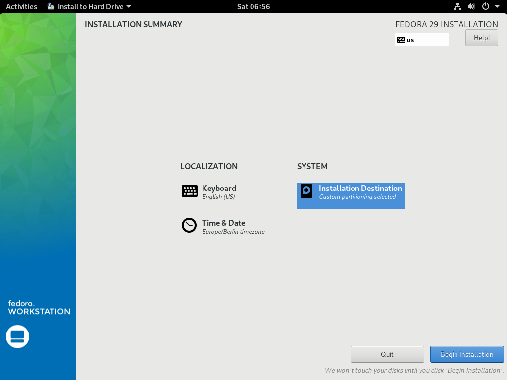 How to install Fedora 29 in 10 easy steps – Marksei